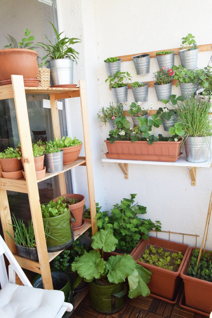 Edible balcony