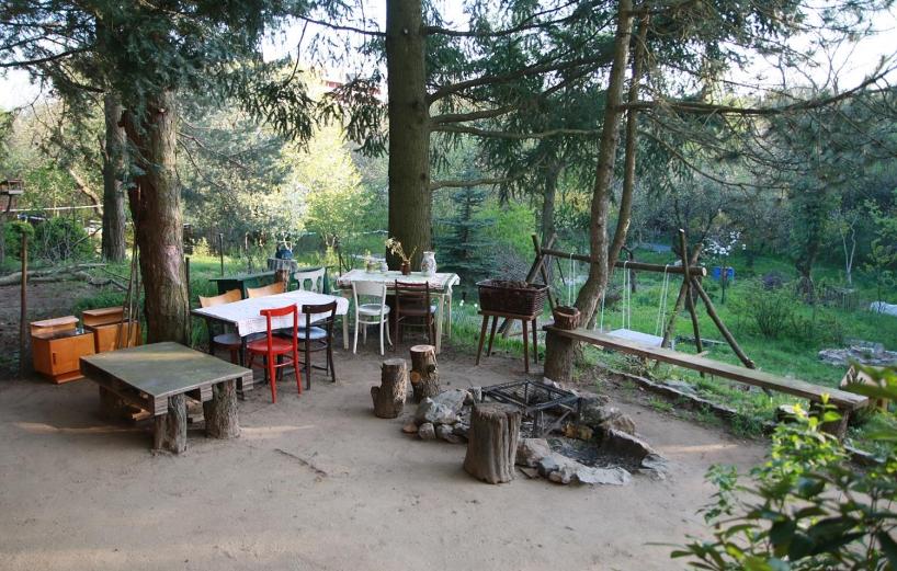 Komunitná záhrada Projektu Život