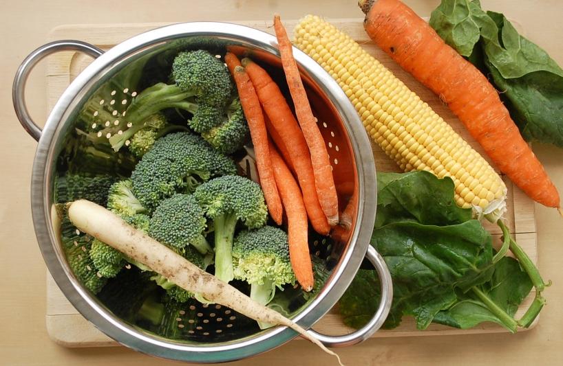 zelenina na blanšírovanie